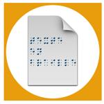 Lien vers la page braille