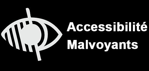 logo pour indiquer le lien d'accessibilité