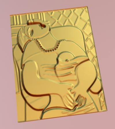 Adaptation 3D de Picasso, le rêve