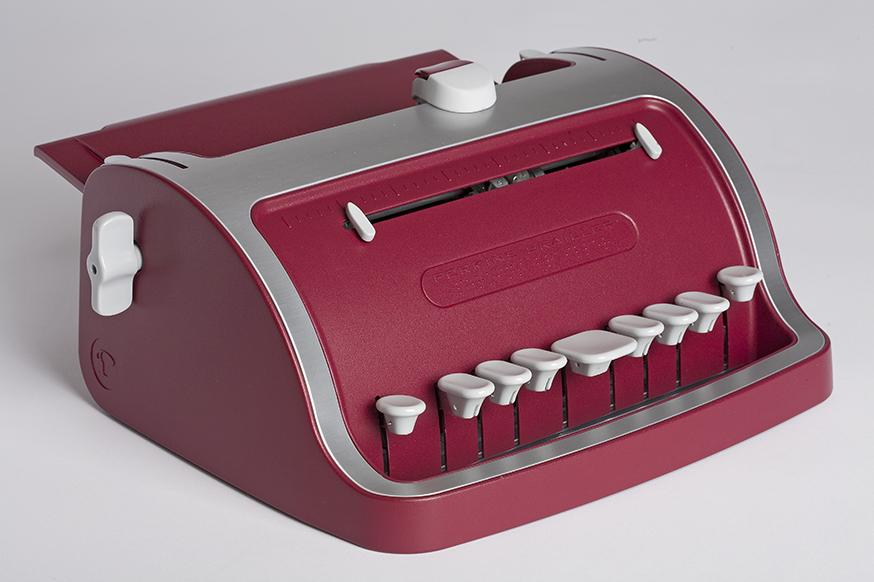 """La """"Perkins"""" la machine à écrire le braille"""