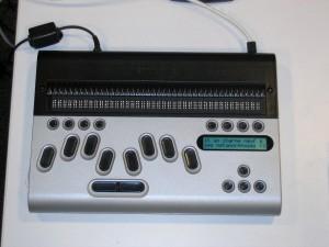 Bloc note braille