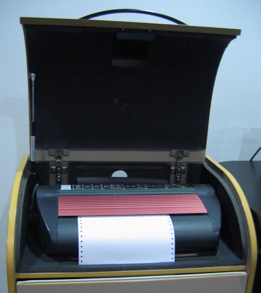 Une imprimante braille