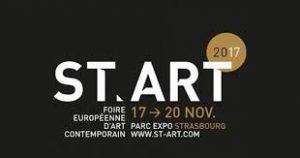 Logo st'art 2017 STrasbourg